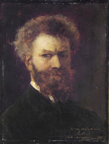 Munkácsy Mihály: Önarckép (1881)