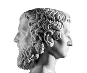 Janus, a kétarcú isten